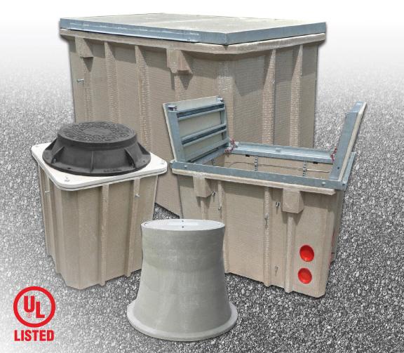 Pc Vault Amp Manhole Assemblies Armorcast Products